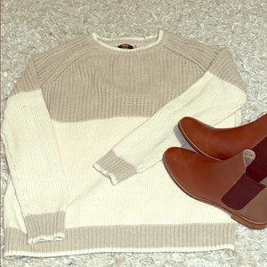 BDG Color Block Sweater